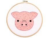 Piglet - Hoop Art Kit
