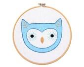 Owlet - Hoop Art Kit
