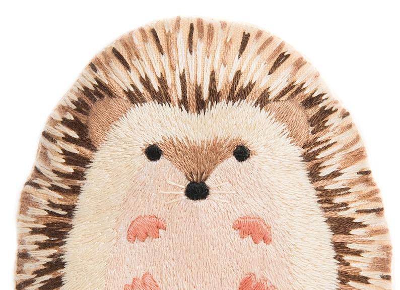 Hedgehog  Embroidery Kit image 0