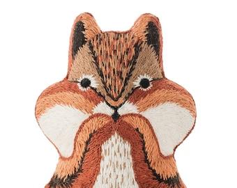 Chipmunk - Embroidery Kit