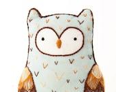 Horned Owl - Embroidery Kit