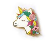 Unicorn - Enamel Needleminder *Magnetic*