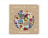 Sampler Club Welcome Pack