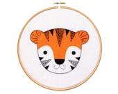 Tiger Cub - Hoop Art Kit