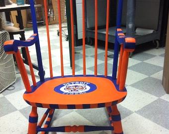 Detroit tigers chair