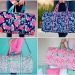 Duffel Bag, Monogrammed Duffel Bag, Personalized Overnight Bag, Monogrammed Gym Bag, Kids Duffel Bag, Weekend Travel Bag, Cute Luggage