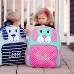 Toddler's Backpack, Puppy Backpack, Monogram Backpack, Personalized Backpack, Preschool Bookbag, Kid's Bookbag, Monogrammed Backpack