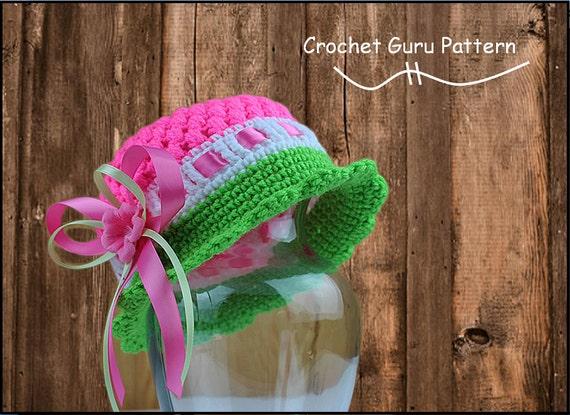 Crochet Cloche Hat Pattern Crochet Pattern Crochet Hat 5 Etsy