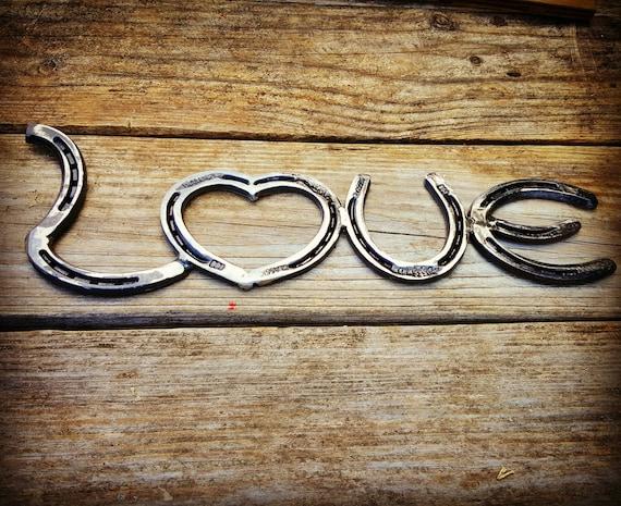 Valentine S Day Valentine S Gift Rustic Horseshoe Etsy