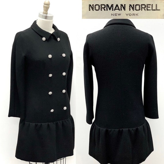 1960s Norman Norell New York | Double Breasted Woo
