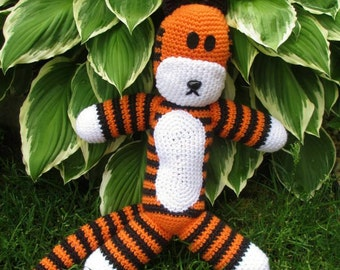 CALVIN & HOBBES: crochet stuffed toy