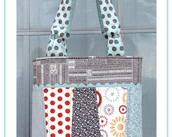 The Somerset Tote Bag PDF Pattern, Bagmaking, Sewing Pattern
