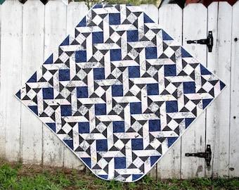 Starburst Quilt Pattern, PDF Pattern, Quilting, Scrap Quilt