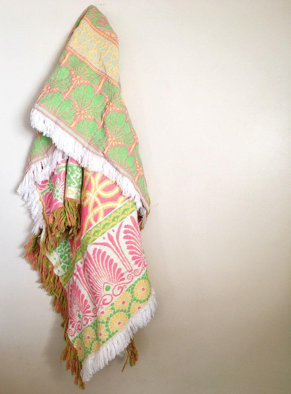 Vintage TapestryThrow Blanket