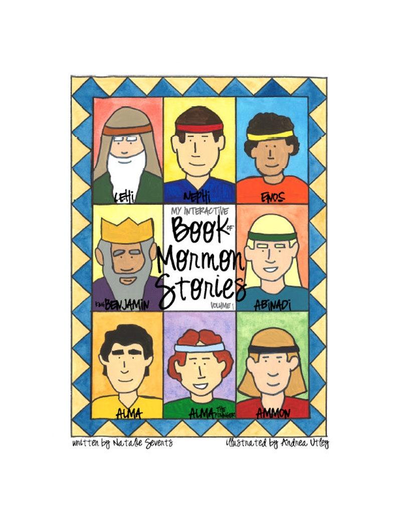 Volume 1: Interactive Book of Mormon for Kids PDF image 0