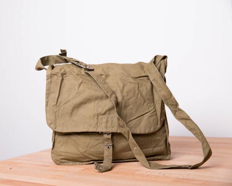 c3be0b1e2f620 Mężczyźni torba Messenger Military Bag Vintage płótno torba | Etsy