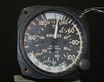 Airspeed Indicator Piper Vintage 544