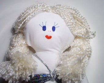 Mermaid doll - Vintage siren toy retro girls toys