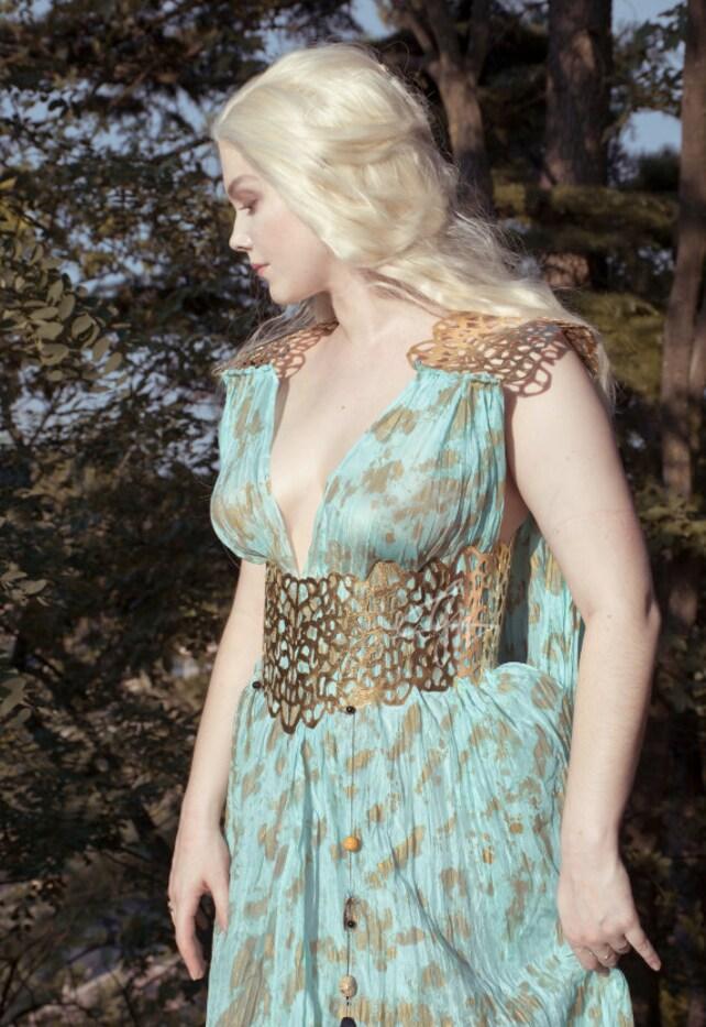Daenerys Qarth silk gown   Etsy