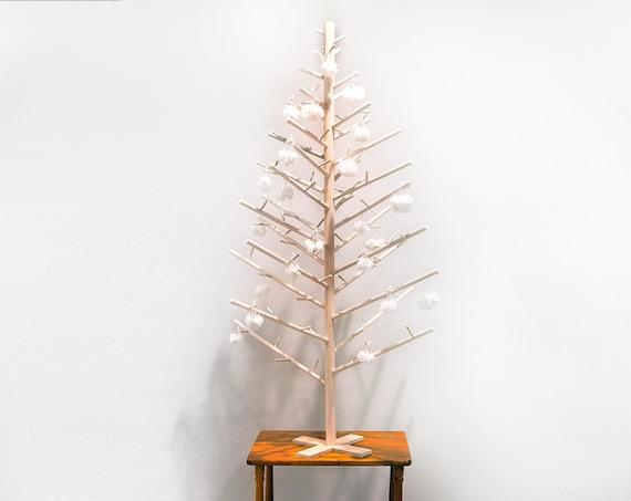 4 Foot Contemporary Modern Scandinavian Minimalist Wooden Etsy