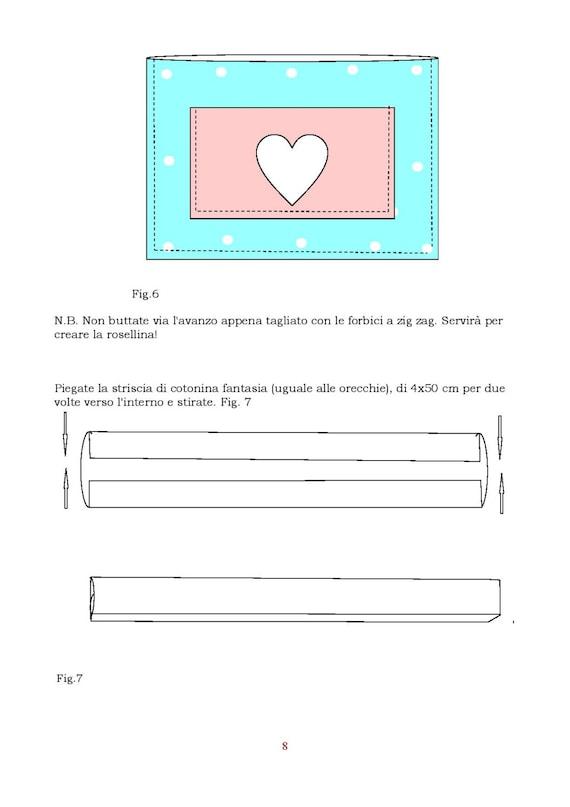 PDF Muster Bommel Schwanz Kaninchen Nähen Muster Kaninchen   Etsy