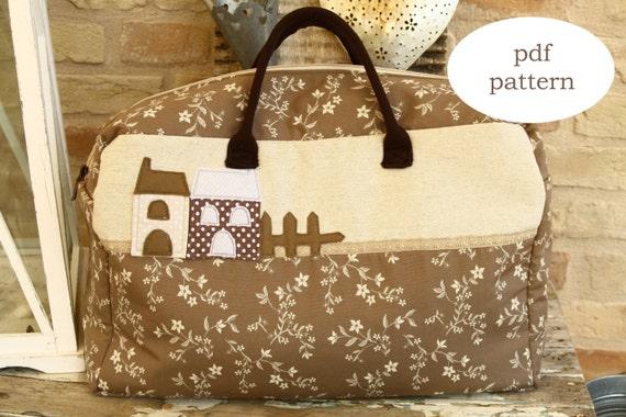 PDF Muster Weekender Bag Nähen Muster Weekender Tasche | Etsy