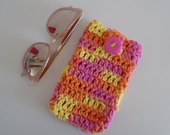 Crochet Sunglasses Case