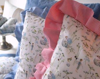 """""""Elf Dreams"""" Ruffle Pillow"""