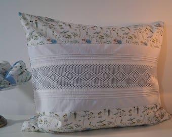 """Pillows """"Elf Dreams"""" crochet braid"""