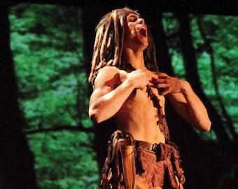 Tarzan/Jack Sparrow Style Dreadlock Wig
