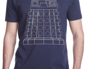 Men's Exterminate Dr Who Dalek Shirt