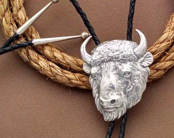 7cedd135c Buffalo Bolo Tie | American Bison Bolo | Men's Western Jewelry | Gift for  Men | Bolo Tie Gift for Men | Men's Western Jewelry | Gift for Dad