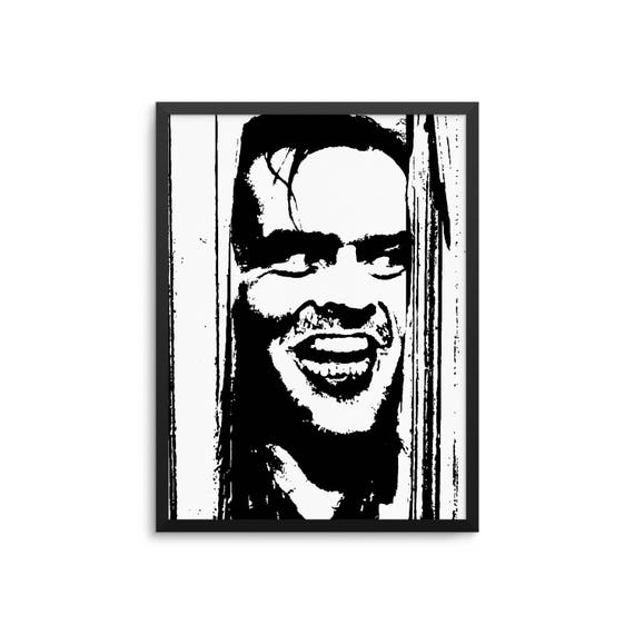 The Shining Movie Poster Jack Nicholson Here's