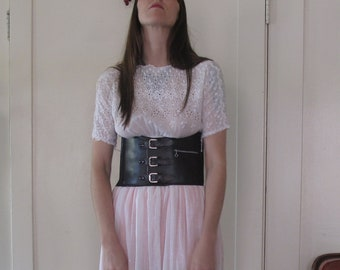 1960's Motorcycle Corset sz Sm/Med