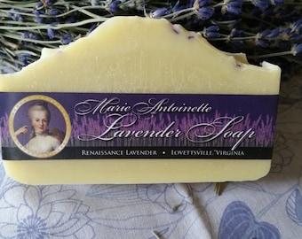 Handmade Marie Antoinette Lavender Artisan Soap