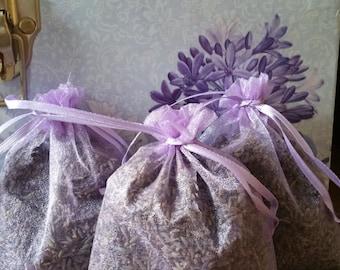 A Trio of Lavender Sachets