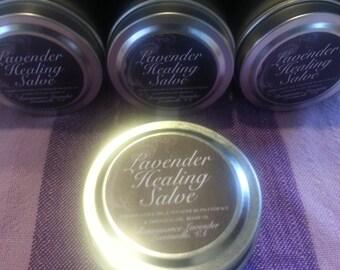 Lavender Healing Salve all-natural rich olive oil & lavender