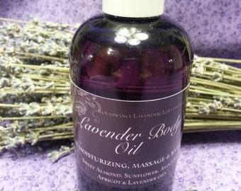 Lavender Body Massage & Bath Oil