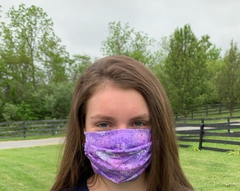Lavender scented facemasks