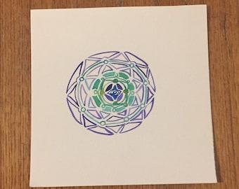 Framework to be filled Mandala