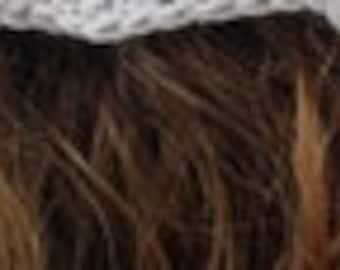 Lacy Headscarf Bandana Crochet Pattern *Pdf digital download* Cottagecore Kerchief