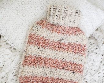 Crochet Hot Water Bottle Cosy Pattern *Pdf digital download*