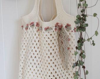Crochet Market Bag Pattern  *PDF digital download*