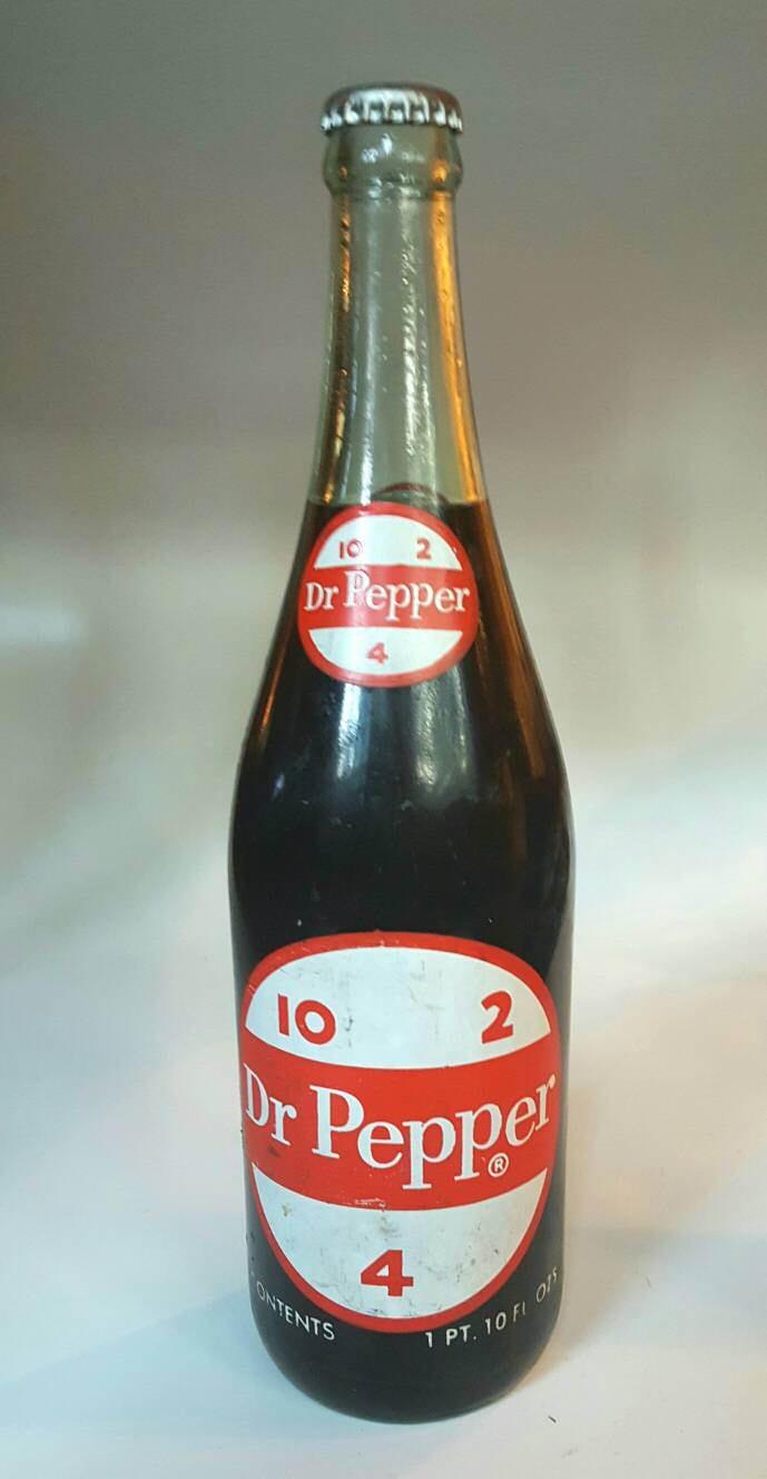 Vintage RARE Dr Pepper 10 2 4 Bottle One Pint 10 oz | Etsy