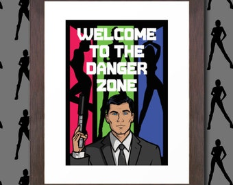 Unofficial Fan Art - Archer - Welcome to the danger zone