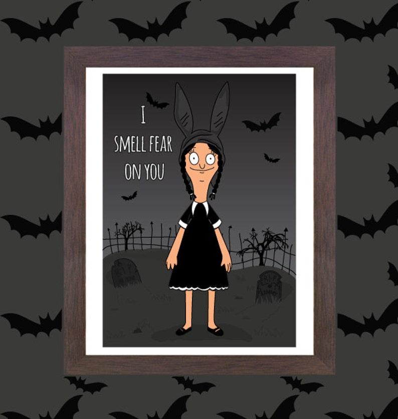 4d493cd4d78 Unofficial Fan art Louise Belcher x Wednesday Addams Fan