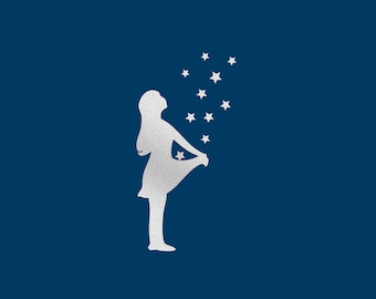 reflector patches sterntaler iron-on transfer reflective pictures kids reflective stars children ironing patches reflectors kids application