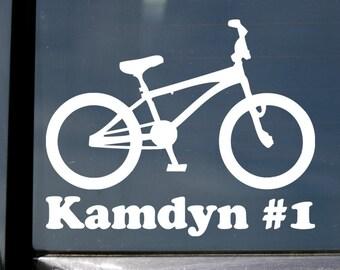 Personalised Name Sticker Label//Decal for Kids Girls Boys Bike Safety Helmet BMX