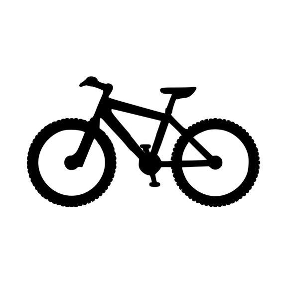 Bicycle Chain Heart vinyl sticker decal bike love mtb mountain bike bmx cycling