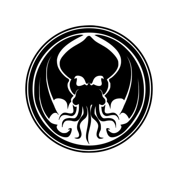 CTHULHU HEAD Lovecraft Vinyl Decal Car Sticker Wall Truck CHOOSE SIZE COLOR